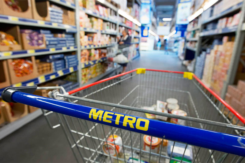 В магазине Metro cash and carry