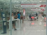 Интерьер кибермаркета электроники Юлмарт в Марьино